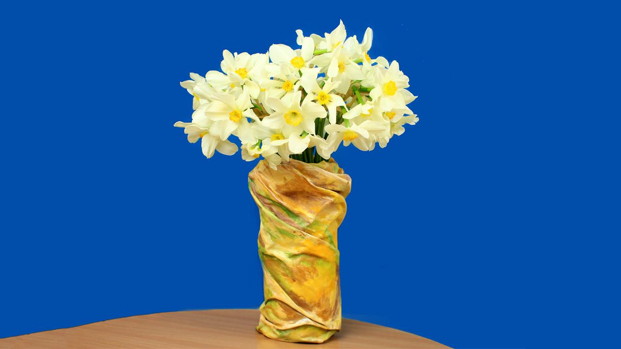Diy plastic bottle vase floridaeventfo Image collections